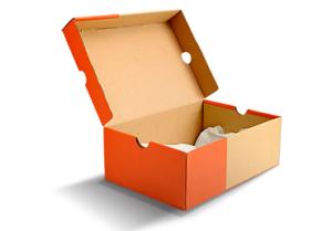 corrugated show box