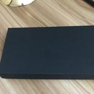 Black Die Cut Paper Custom Product Shape Box