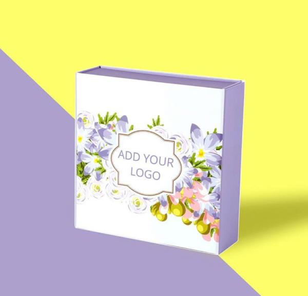 Flower Printed Box