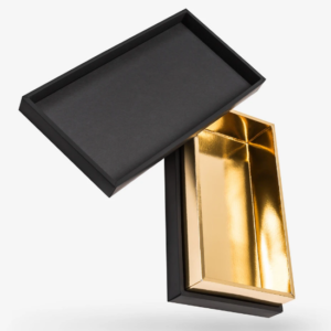 Gold Shoulder Neck Box With Insert