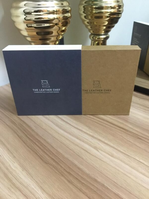 Kraft Board Printed with Sleeve box- For Wallet