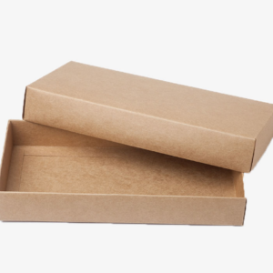 Kraft Paper Brown Box with Lid