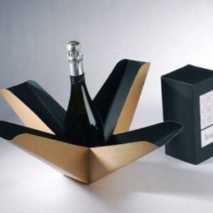 Kraft Paper Wine Bottle Box
