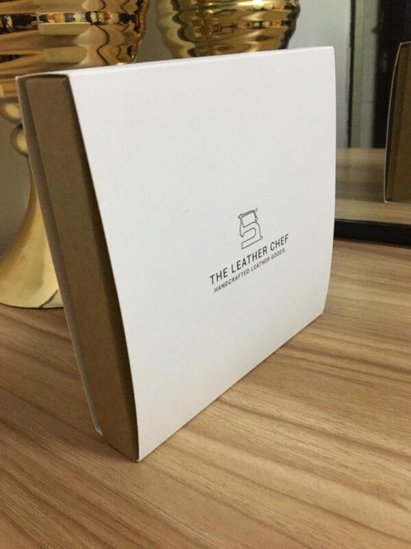 Kraft Rigid Printed With Sleeve Box