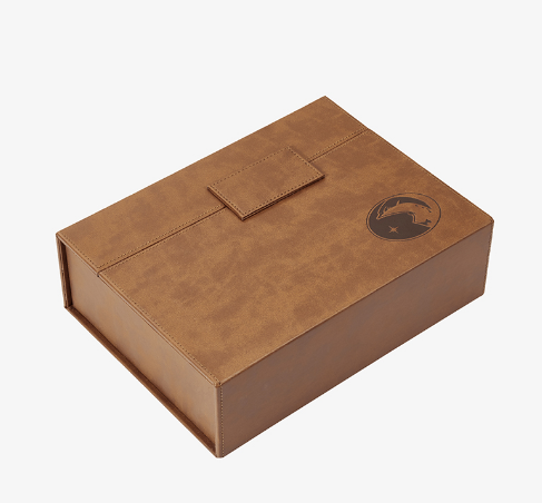 Leather Texture Box