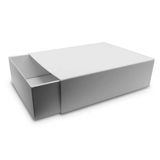 Plain without Printed Box