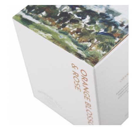 Printed Paperboard For Bottle Packaging