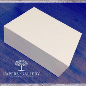 White Flat Pack Box