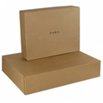 Corrugated Brown Kraft paper Maller Box Ref Zar