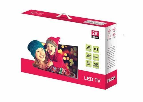 Custom Corrugated Led Tv Box