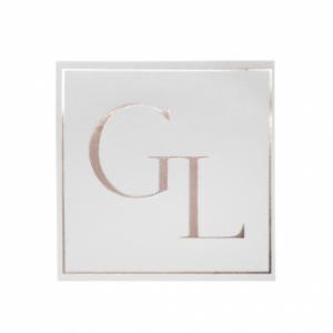 Gold Foil Printed Sticker