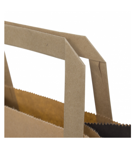 Kraft Paper Printed Carry Bag