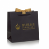 Luxury Hot Gold Foil Printed Carry Bag