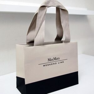 Ribbon Handel Printed Carry Bag