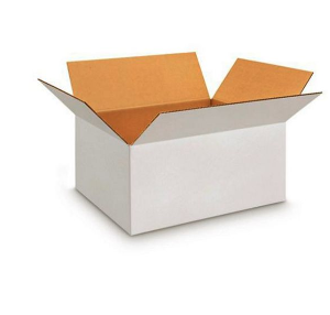 White Center Tape Corrugated Box