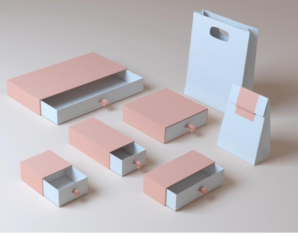 Custom Rigid- Cardbaord Luxury Boxes