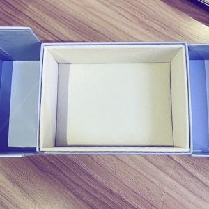 Ocean blue color jewellery box